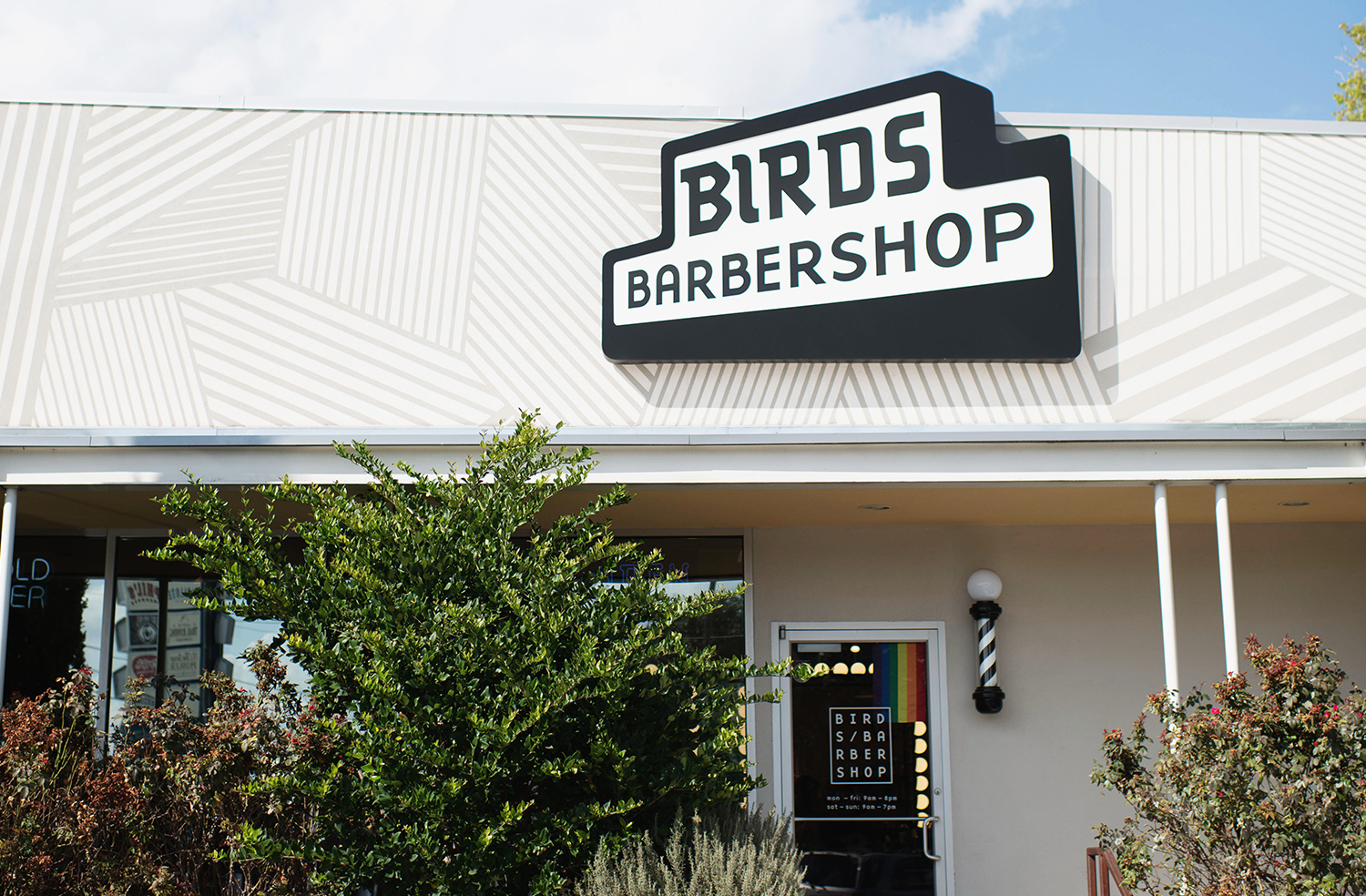 Exterior image of Birds at Anderson Mill.